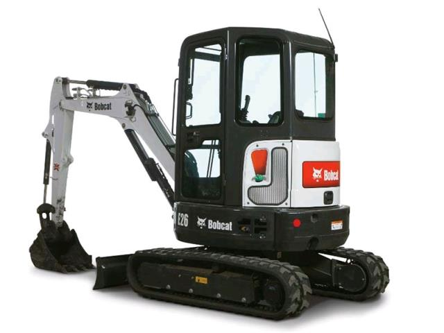 Where to find BOBCAT EXCAVATOR E26 in Kansas City