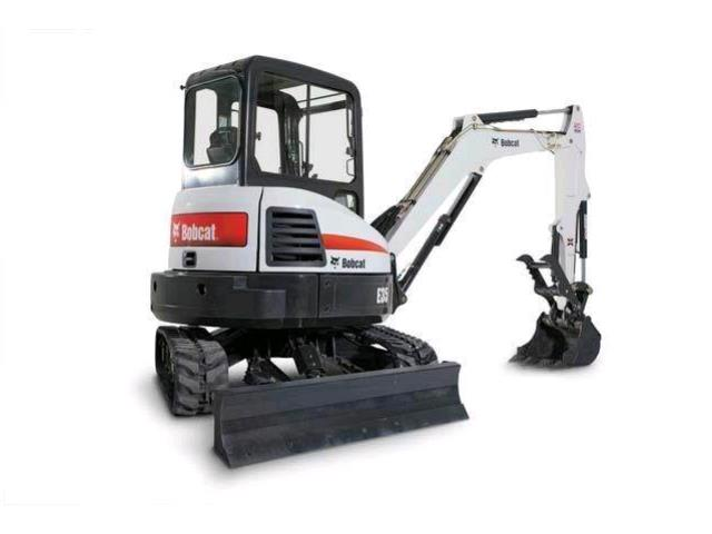Where to find BOBCAT EXCAVATOR E35 in Kansas City